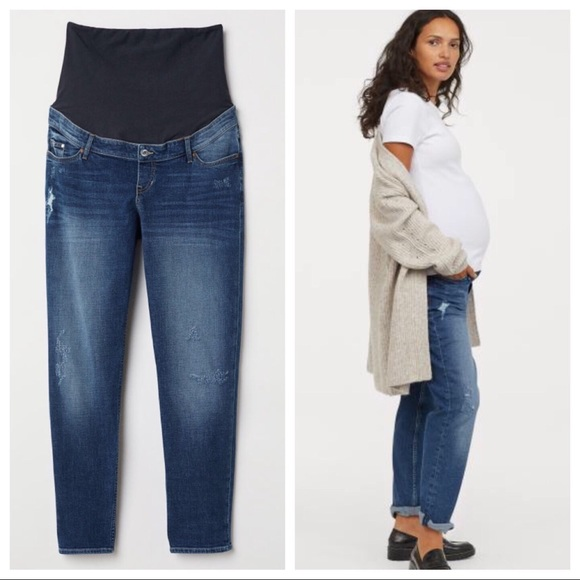 popular style dirt cheap crazy price 🌟HP🌟 H&M Mama Maternity Boyfriend Jeans 14